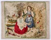 Вышивка, выполненная матерью художника. Начало XIXв.