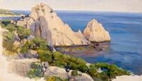 Крымский пейзаж. 1907.
