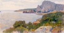 Крымский пейзаж. 1900-е.