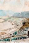 Плоты на Енисее.1862.