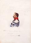 Портрет А.С.Сурикова, деда художника, казачьего атамана. 1860-е.