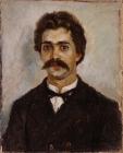 Портрет А.И. Сурикова, брата художника.1889-1890.