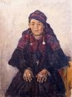 Портрет хакаски.1909.