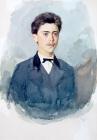 Портрет Александра Ивановича Сурикова. 1873.