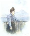Портрет О.В.Суриковой, дочери художника. 1900.