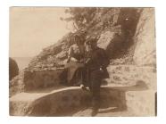В.И. Суриков с К. Сабашниковой в Крыму. 1900-ые гг.